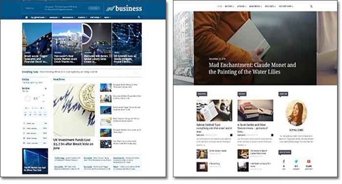 Κατασκευή ειδησεογραφικού website